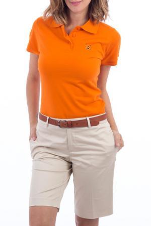 Рубашка-поло POLO CLUB С.H.A.. Цвет: оранжевый