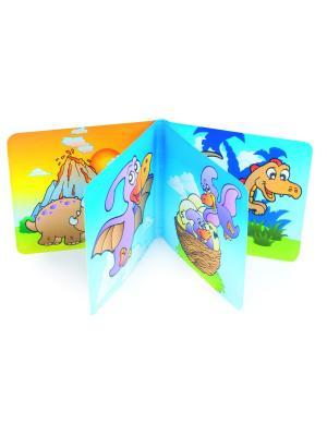 Книжка с пищалкой, 6+, рисунок: динозаврик Canpol babies. Цвет: зеленый