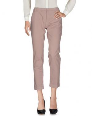 Повседневные брюки ELEVENTY. Цвет: голубиный серый