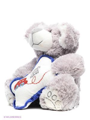 Песик Бим С Подушкой 23 См. (SUT-010SBX336-23) MAXITOYS. Цвет: бежевый, белый, голубой