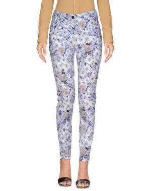 Повседневные брюки MIA SULIMAN. Цвет: белый