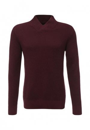 Пуловер Produkt. Цвет: бордовый