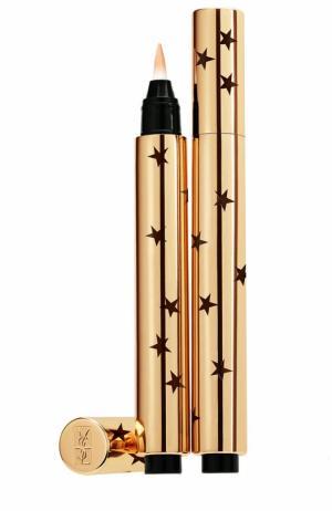 Кисточка-хайлайтер Touche Eclat Star Collector, оттенок 02 YSL. Цвет: бесцветный