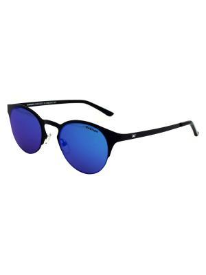Солнцезащитные очки Exenza. Цвет: черный,синий