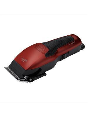Машинка для стрижки волос GA.MA T21.GM590. Цвет: красный