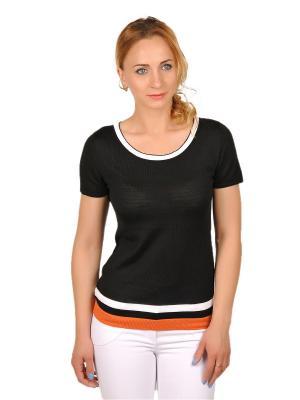 Кофточка Gallant Touch. Цвет: черный, белый, оранжевый