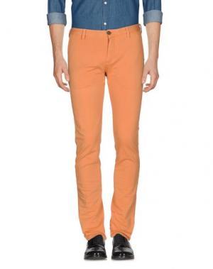 Повседневные брюки DOMENICO TAGLIENTE. Цвет: оранжевый