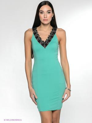 Платье NikiBiki. Цвет: зеленый, черный