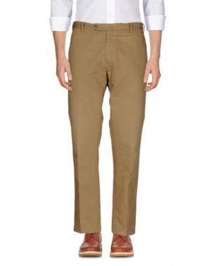 Повседневные брюки G.T.A. MANIFATTURA PANTALONI. Цвет: хаки