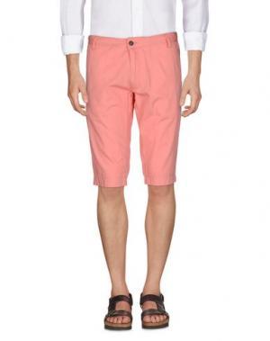 Бермуды GANESH. Цвет: лососево-розовый