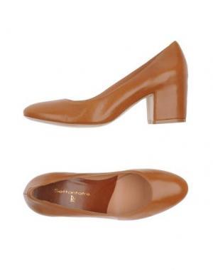 Туфли SETTANTATRE LR. Цвет: желто-коричневый