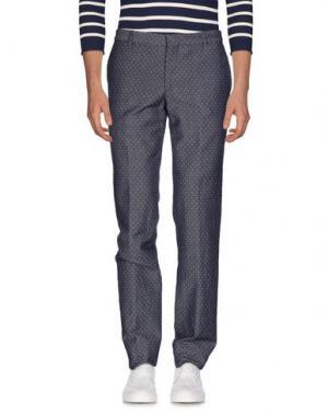 Джинсовые брюки PAOLONI. Цвет: синий