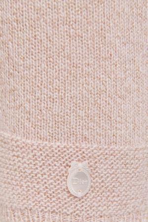 Трикотажные детские брюки Dior Children. Цвет: розовый