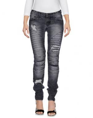 Джинсовые брюки SHI 4. Цвет: свинцово-серый