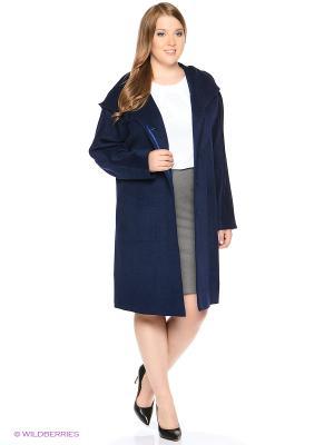 Пальто PARADOX. Цвет: темно-синий