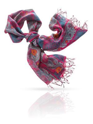 Палантин MICHEL KATANA`. Цвет: темно-серый, малиновый, рыжий, фиолетовый