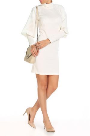 Платье Majaly. Цвет: молочный