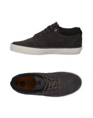 Низкие кеды и кроссовки C1RCA. Цвет: стальной серый