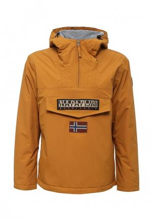 Куртка утепленная Napapijri. Цвет: желтый