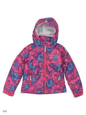 Куртка Icepeak. Цвет: розовый, синий