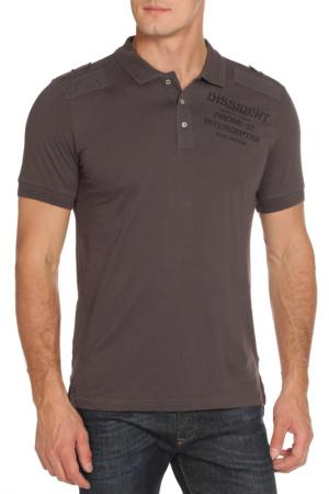 Рубашка-поло DISSIDENT. Цвет: raven grey