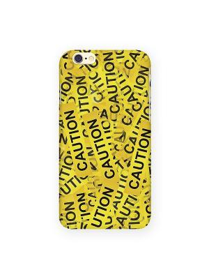 Чехол для IPhone 6 Оранжевый скотч Mitya Veselkov. Цвет: желтый, черный