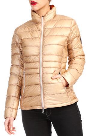 Куртка YETI. Цвет: бежевый