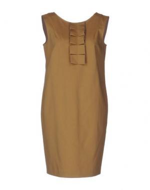 Короткое платье ...À_LA_FOIS.... Цвет: верблюжий