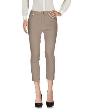 Повседневные брюки MARANI JEANS. Цвет: серый