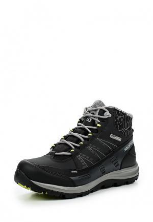 Ботинки Salomon. Цвет: черный