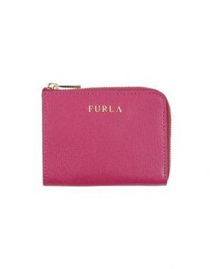 Кошелек для монет FURLA. Цвет: пурпурный