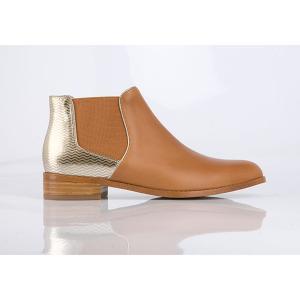 Кожаные ботинки  Balola MELLOW YELLOW. Цвет: темно-бежевый