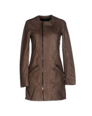 Легкое пальто VINTAGE DE LUXE. Цвет: хаки
