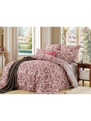 Комплект постельного белья, Эрнесто, Семейный KAZANOV.A.. Цвет: бордовый