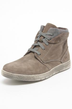 Ботинки FRECCIA. Цвет: серый