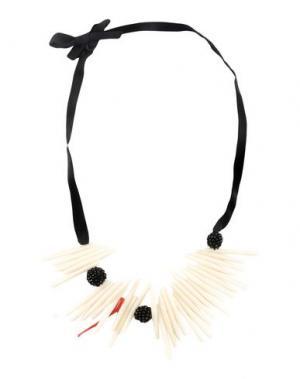Ожерелье MARIA CALDERARA. Цвет: слоновая кость