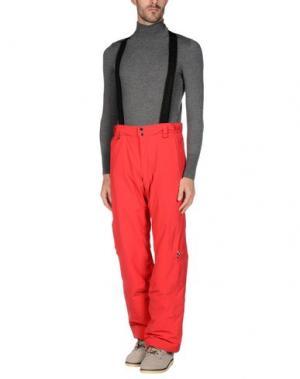 Повседневные брюки PEAK PERFORMANCE. Цвет: красный