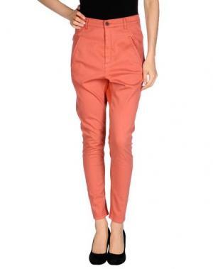Джинсовые брюки SUPERFINE. Цвет: ржаво-коричневый