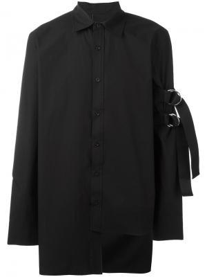 Sleeve strap shirt D.Gnak. Цвет: чёрный