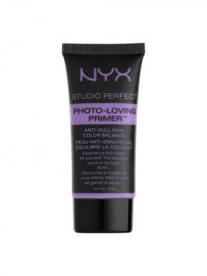 Основа для макияжа STUDIO PERFECT PRIMER - LAVENDER 03 NYX PROFESSIONAL MAKEUP. Цвет: сиреневый