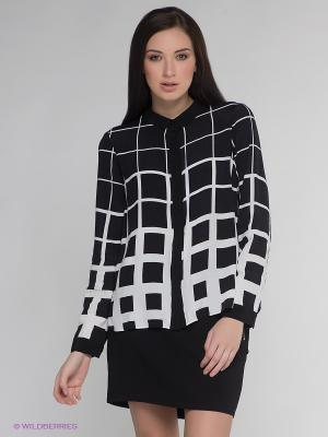 Блузка Vero moda. Цвет: черный, белый
