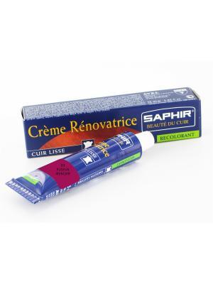 Восстановитель кожи Creme RENOVATRICE, 25 мл. (жидкая кожа)(93 фуксия) Saphir. Цвет: фуксия