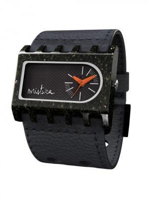 Часы Mistura FERRO ARK Black/Carbon Fiber. Цвет: черный