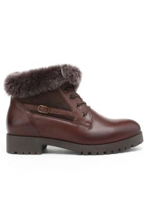 Ботинки DERIMOD. Цвет: коричневый