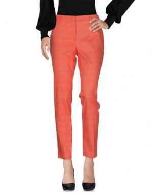 Повседневные брюки ARGONNE. Цвет: коралловый