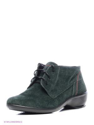 Ботинки Marko. Цвет: темно-зеленый