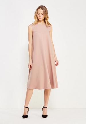 Платье Chapurin. Цвет: бежевый