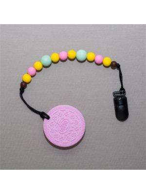 Игрушка-подвеска Краски лета. Цвет: розовый, желтый, темно-коричневый, серо-зеленый