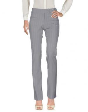 Повседневные брюки EMISPHERE. Цвет: серый