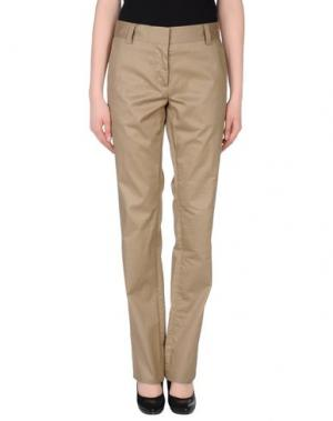 Повседневные брюки LUELLA. Цвет: хаки